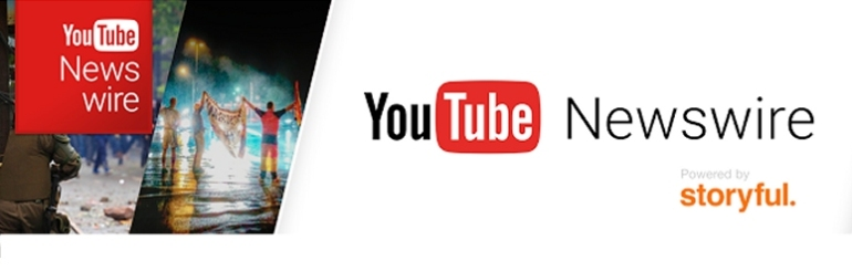 YouTube newswire cover