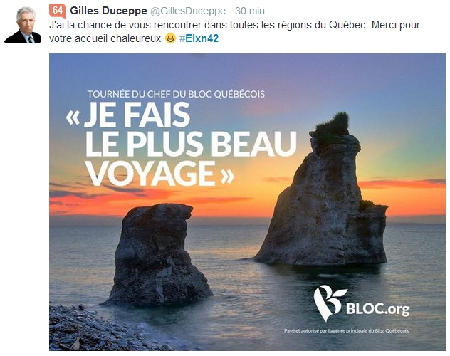 duceppe voyage