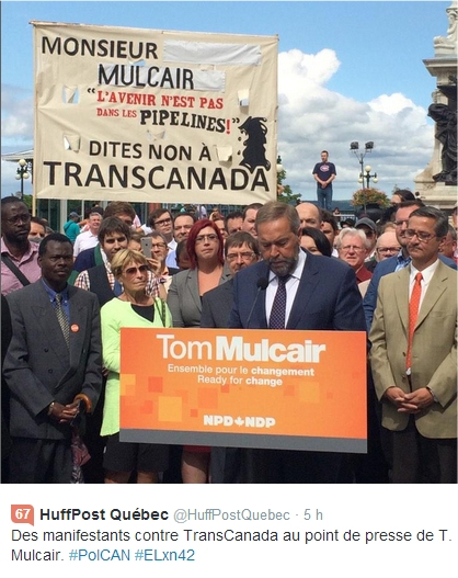 manif mulcair 2