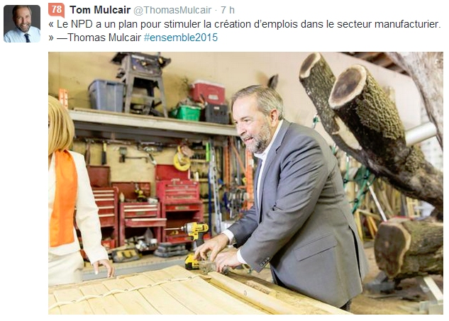 mulcair menuisier