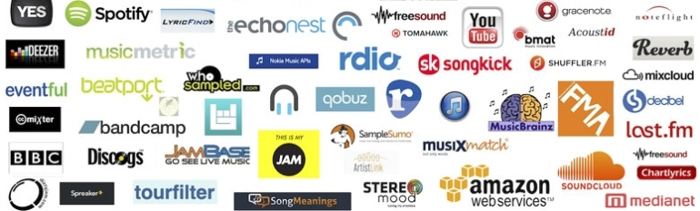 Music streaming service cover
