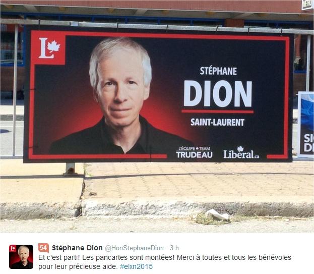 pancarte Dion