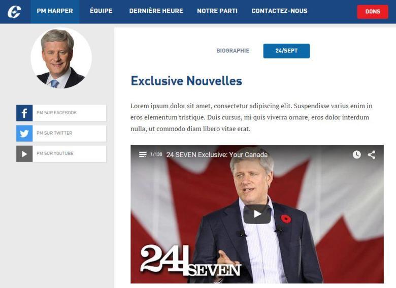 web conservateur