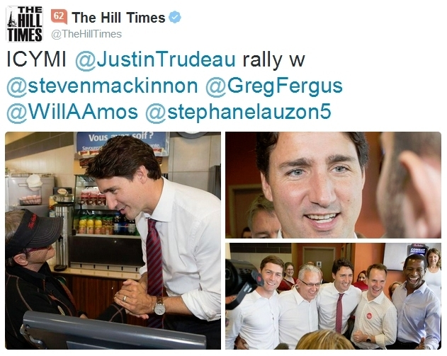 Tim Hortons Trudeau